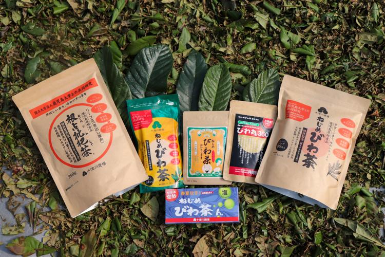 びわ茶商品